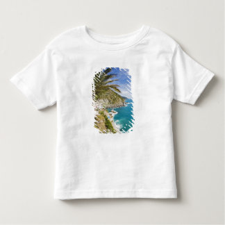 Italy, Cinque Terre, Vernazza, Hillside Town of Toddler T-shirt
