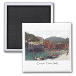 Italy Cinque Terre Vernazza Tourist Destination Magnet