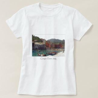 Italy Cinque Terre Vernazza Tourist Destination T-Shirt