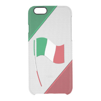 Italy Clear iPhone 6/6S Case