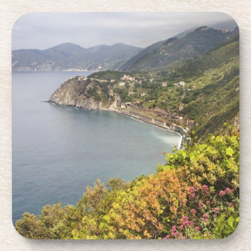 Italy. Coastal hiking area between the villages Beverage Coasters