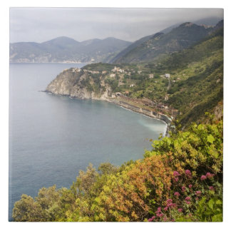 Italy. Coastal hiking area between the villages Ceramic Tile