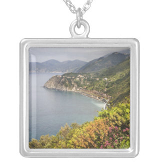 Italy. Coastal hiking area between the villages Silver Plated Necklace