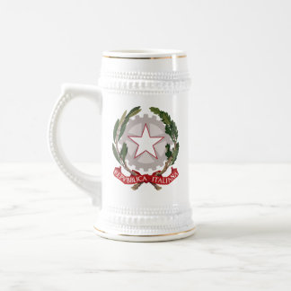 Italy Coat of Arms Beer Stein