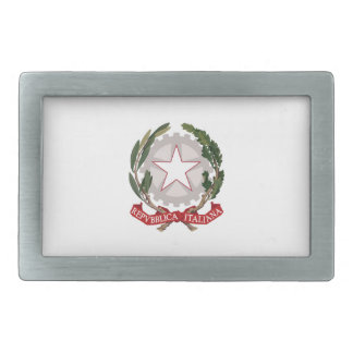 ITALY COAT OF ARMS BELT BUCKLES