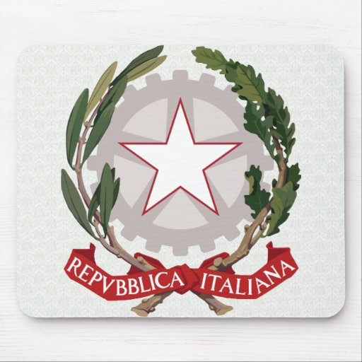 Italy Coat of Arms detail Mouse Pad
