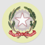 Italy Coat of Arms detail Stickers