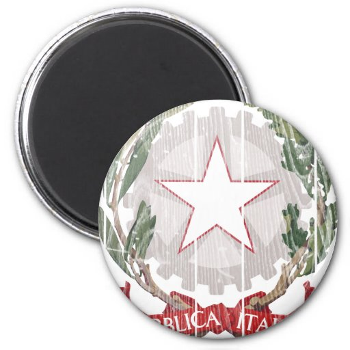 Italy Coat Of Arms Fridge Magnet