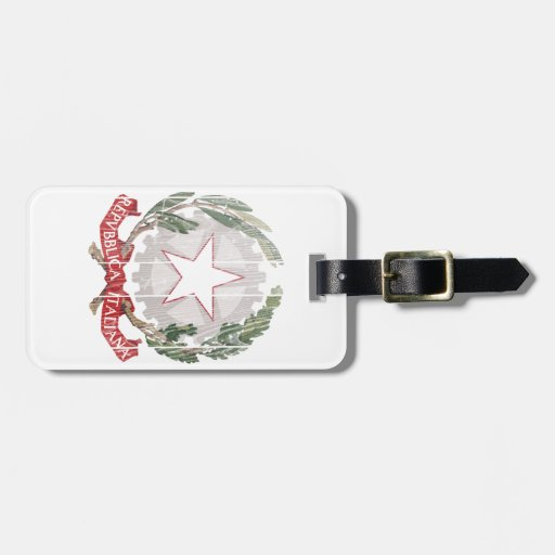 Italy Coat Of Arms Luggage Tag