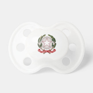 ITALY COAT OF ARMS BooginHead PACIFIER