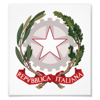 Italy Coat Of Arms Photo Print