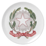 Italy Coat Of Arms Plates