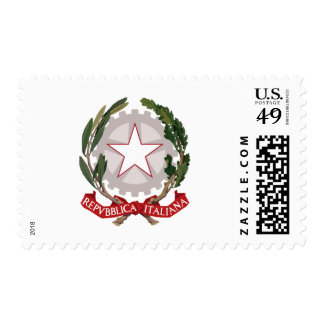 Italy coat of arms postage