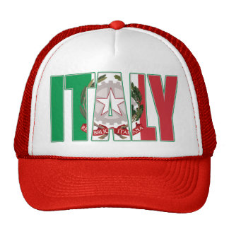Italy Coat of Arms Trucker Hat