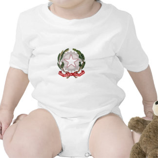 ITALY COAT OF ARMS ROMPER