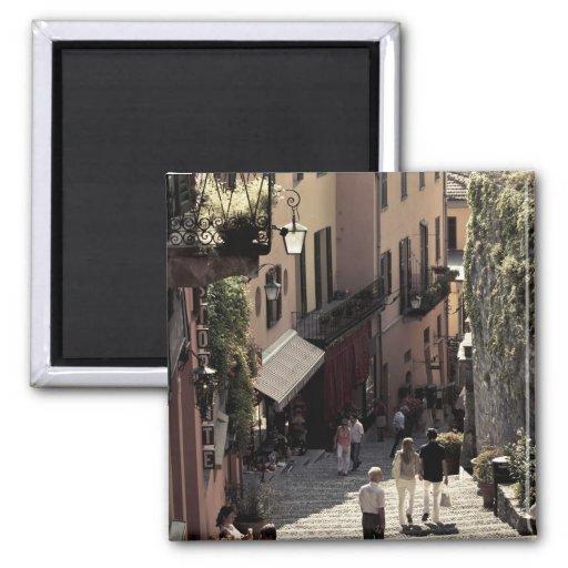 Italy, Como Province, Bellagio. Salita 2 Fridge Magnets