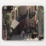 Italy, Como Province, Bellagio. Salita 2 Mouse Pad