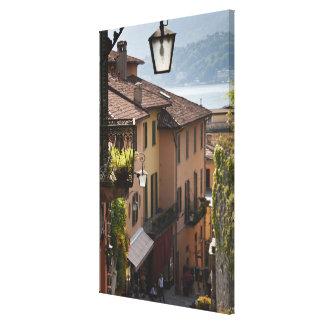 Italy, Como Province, Bellagio. Salita Canvas Print