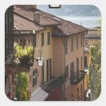 Italy, Como Province, Bellagio. Salita Sticker