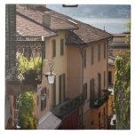 Italy, Como Province, Bellagio. Salita Tiles
