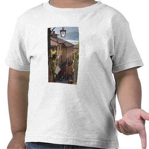 Italy, Como Province, Bellagio. Salita Tshirts