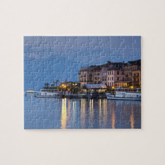 Italy, Como Province, Bellagio. Town view, Jigsaw Puzzle