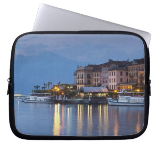 Italy, Como Province, Bellagio. Town view, Laptop Sleeve