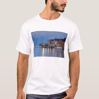 Italy, Como Province, Bellagio. Town view, T-Shirt