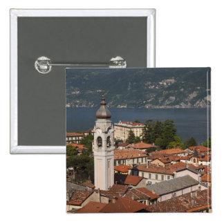 Italy, Como Province, Menaggio. Town view and 2 Button
