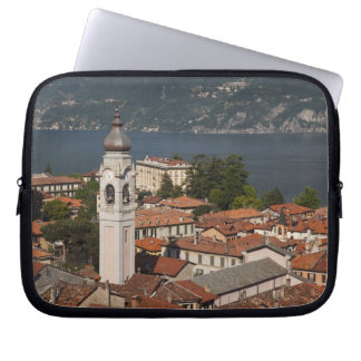 Italy, Como Province, Menaggio. Town view and 2 Laptop Computer Sleeve