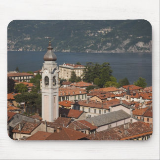 Italy, Como Province, Menaggio. Town view and 2 Mouse Pad