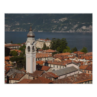 Italy, Como Province, Menaggio. Town view and 2 Poster
