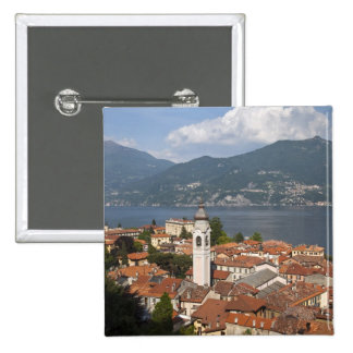 Italy, Como Province, Menaggio. Town view and Button
