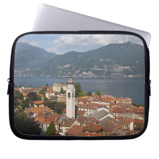 Italy, Como Province, Menaggio. Town view and Computer Sleeves