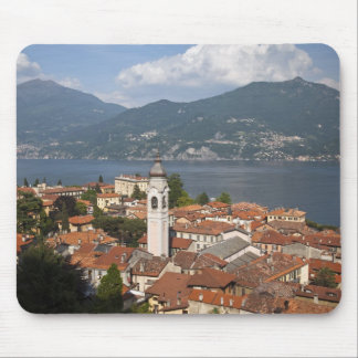 Italy, Como Province, Menaggio. Town view and Mouse Pad