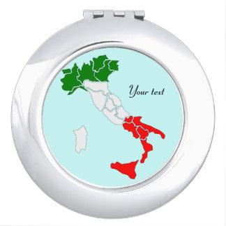 Italy compact mirror. compact mirror