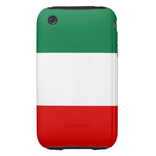 italy country flag case iPhone 3 tough cover