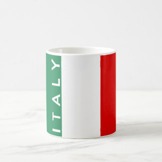 italy country flag symbol name text coffee mug