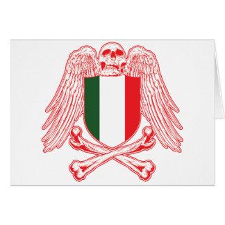 Italy Crossbones Card