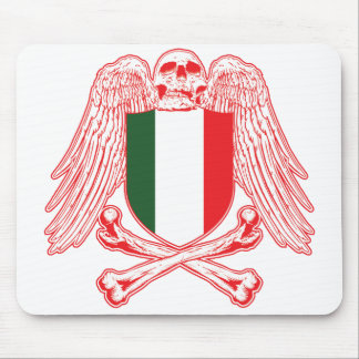 Italy Crossbones Mouse Pad