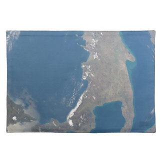 Italy day ESC_large_ISS027_ISS027-E-7768.jpg Cloth Placemat