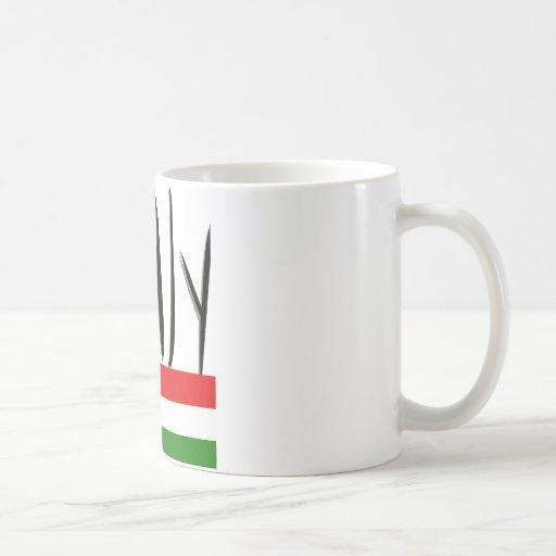 Italy Design! Classic White Coffee Mug