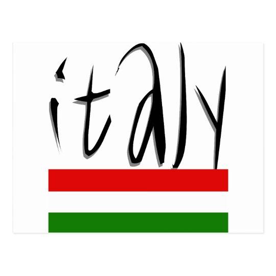 Italy Design! Postcard