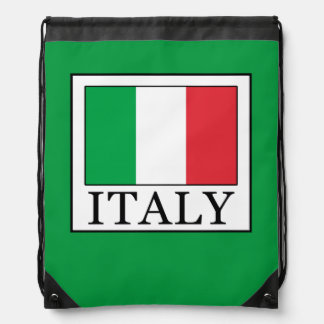 Italy Drawstring Backpack