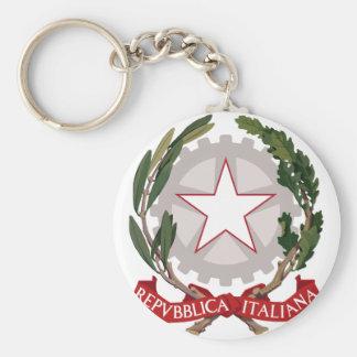 italy emblem key chain