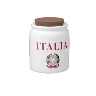 Italy + Emblem of Italy Candy Dish