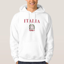 Italy   Emblem of Italy Hoodie