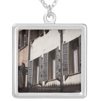 Italy,Emilia-Romagna,Parma Silver Plated Necklace