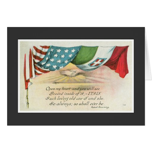 Italy Engraved on My Heart Cards