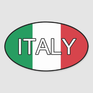 Italy Euro Sticker